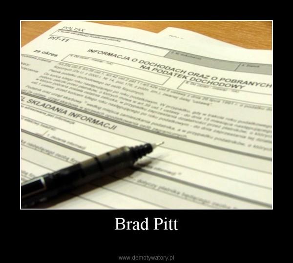 Brad Pitt –