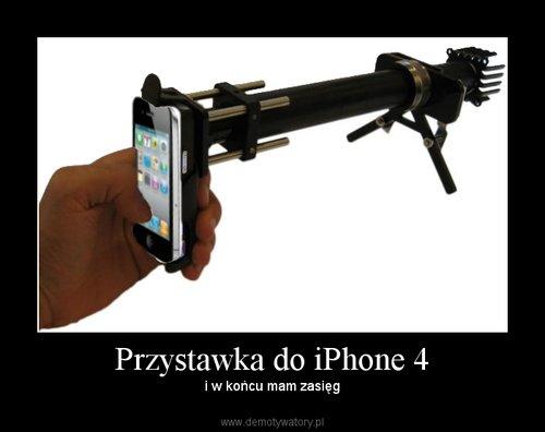 Przystawka do iPhone 4