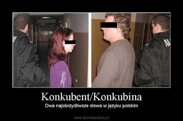 Konkubent/Konkubina – Dwa najobrzydliwsze słowa w języku polskim