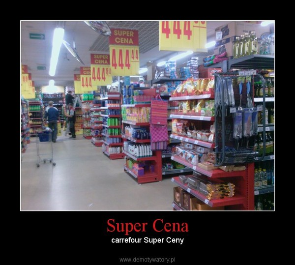 Super Cena – carrefour Super Ceny