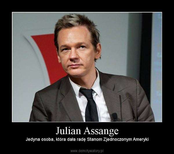 Julian Assange –  Jedyna osoba, która dała radę Stanom Zjednoczonym Ameryki