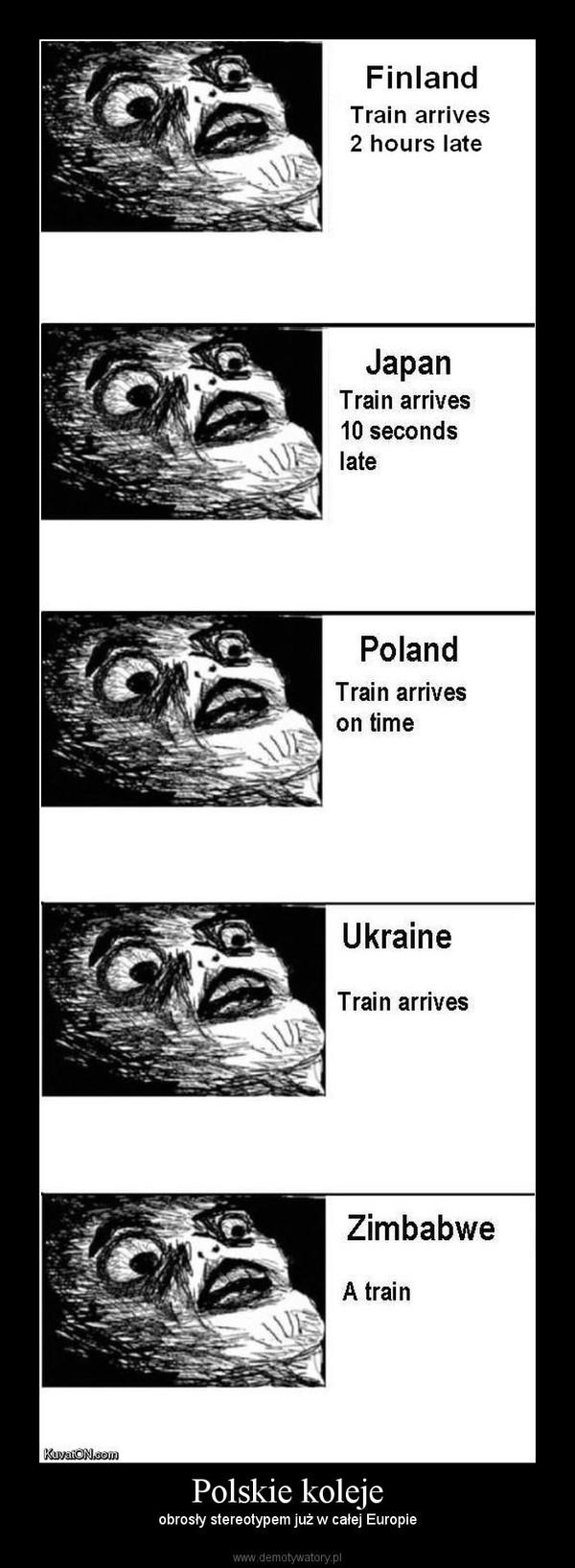 Polskie koleje – obrosły stereotypem już w całej Europie