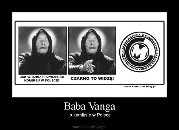 Baba Vanga – o komiksie w Polsce