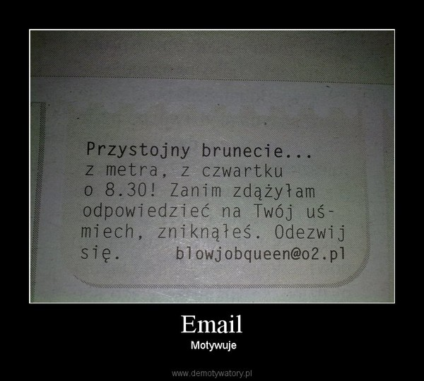 Email – Motywuje