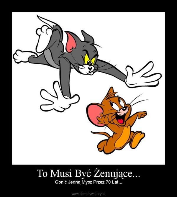 To Musi Być Żenujące... – Gonić Jedną Mysz Przez 70 Lat...
