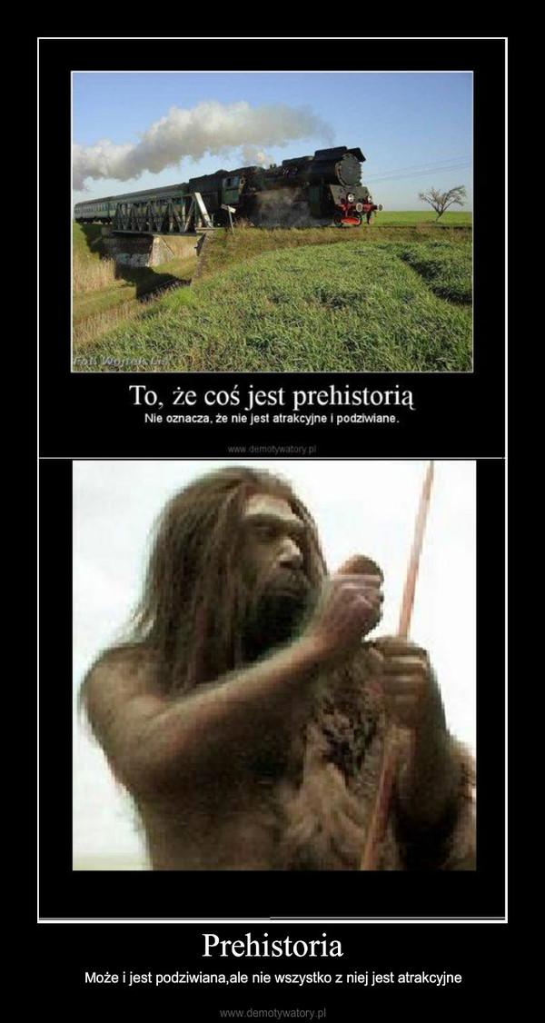 Prehistoria – Może i jest podziwiana,ale nie wszystko z niej jest atrakcyjne