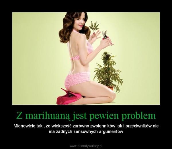 Z marihuaną jest pewien problem – Mianowicie taki, że większość zarówno zwolenników jak i przeciwników nie ma żadnych sensownych argumentów