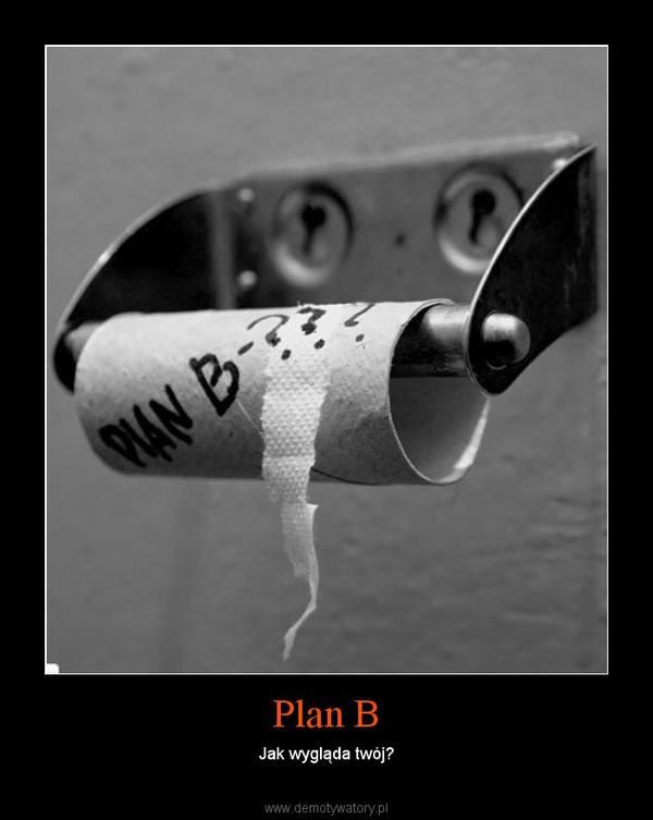 Plan B – Jak wygląda twój?