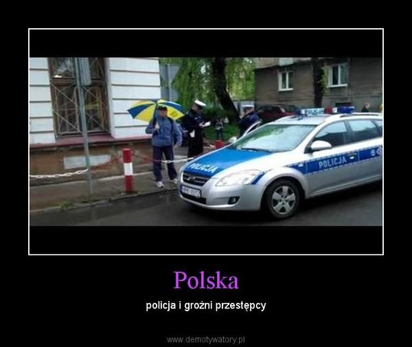 Polska – policja i groźni przestępcy