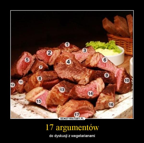 17 argumentów – do dyskusji z wegetarianami