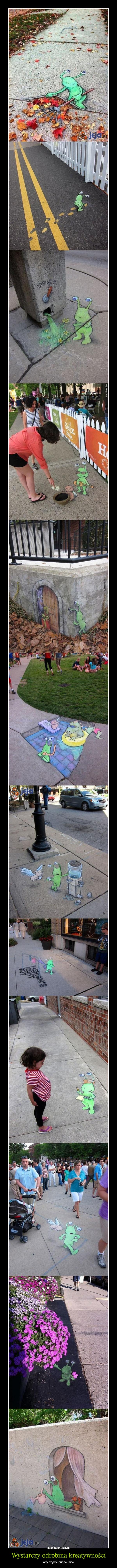 Wystarczy odrobina kreatywności – aby ożywić nudne ulice