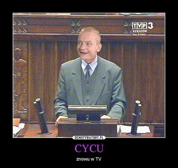 CYCU – znowu w TV