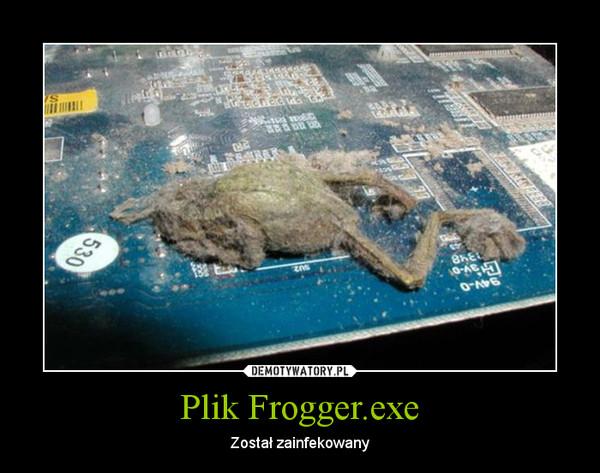 Plik Frogger.exe – Został zainfekowany