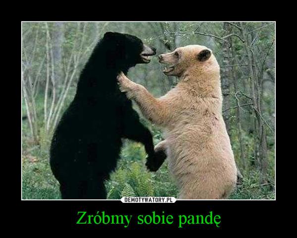 Zróbmy sobie pandę –
