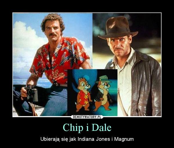 Chip i Dale – Ubierają się jak Indiana Jones i Magnum