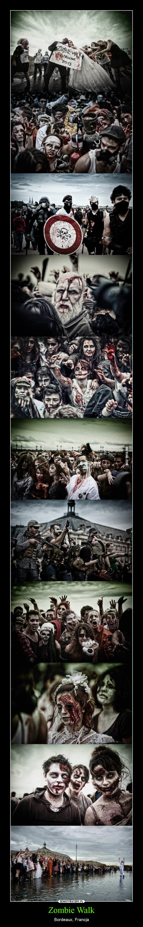 Zombie Walk – Bordeaux, Francja