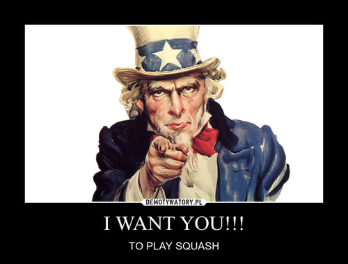 I WANT YOU!!!