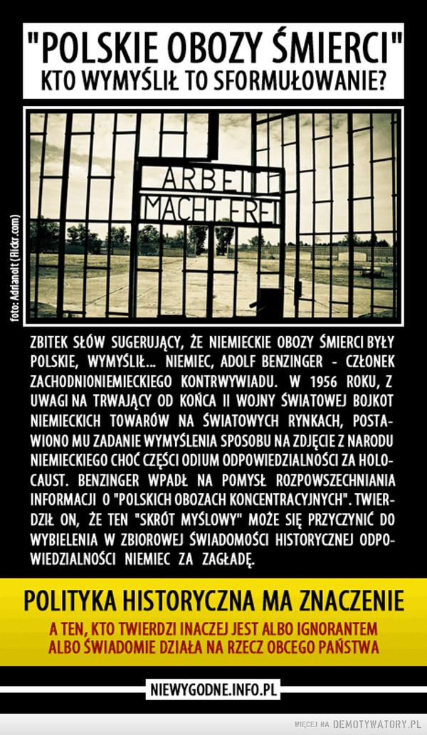 """Prawda o """"polskich obozach śmierci"""""""
