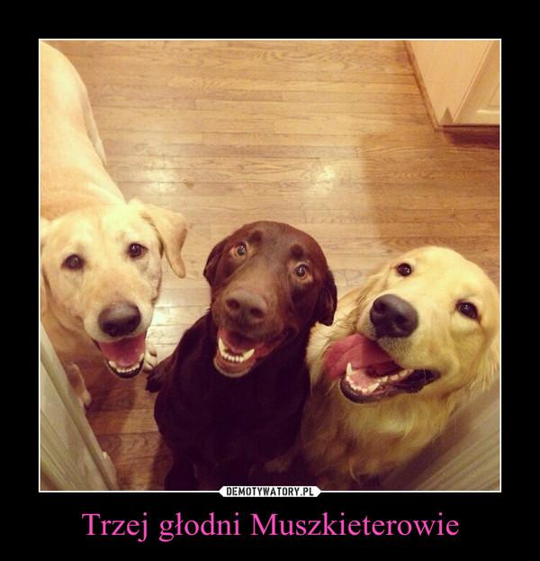 Trzej głodni Muszkieterowie –