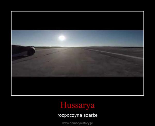 Hussarya – rozpoczyna szarże
