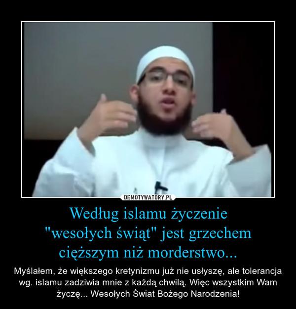 Według islamu życzenie