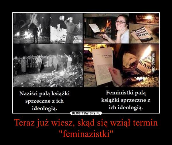 """Teraz już wiesz, skąd się wziął termin """"feminazistki"""" –"""
