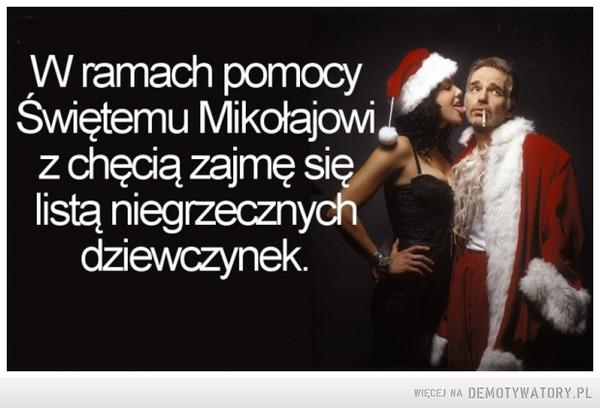 Pomoc dla św. Mikołaja –