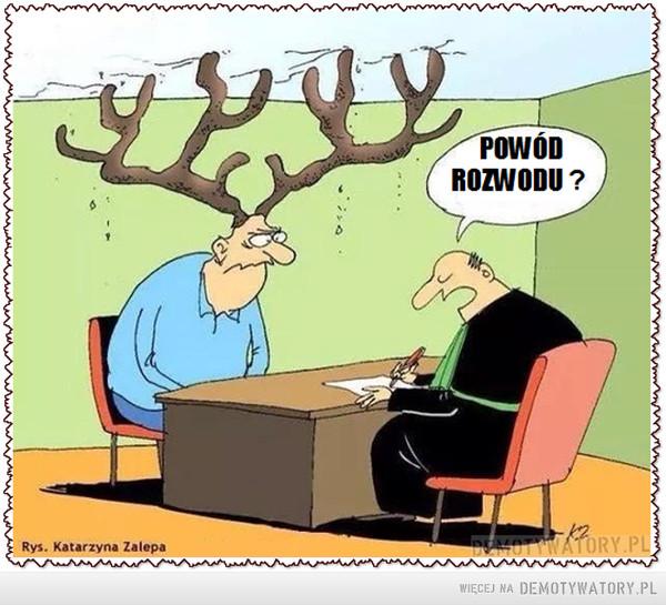 Powód rozwodu –
