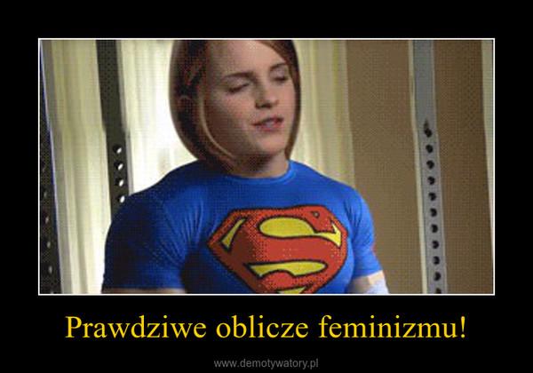 Prawdziwe oblicze feminizmu! –
