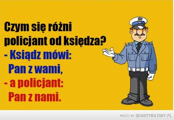 Policjant a ksiądz –