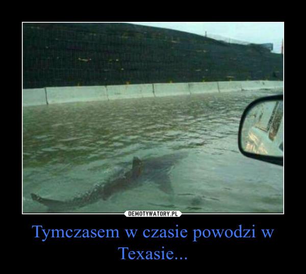 Tymczasem w czasie powodzi w Texasie... –