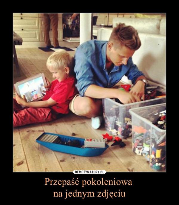 Przepaść pokoleniowa na jednym zdjęciu –