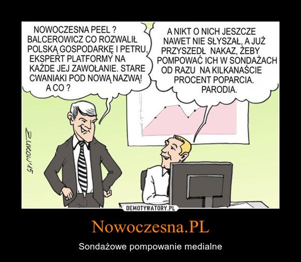Nowoczesna.PL – Sondażowe pompowanie medialne