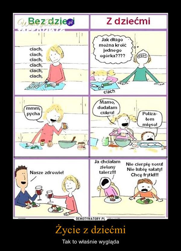 Życie z dziećmi – Tak to właśnie wygląda