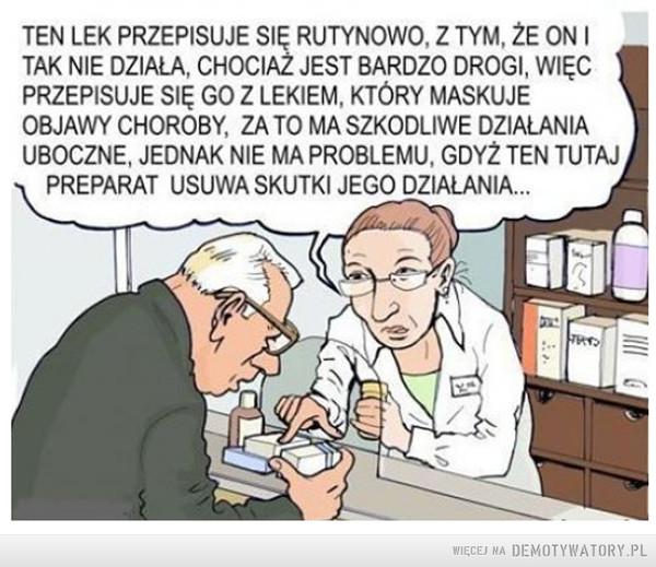 Koncerny farmaceutyczne w akcji... –