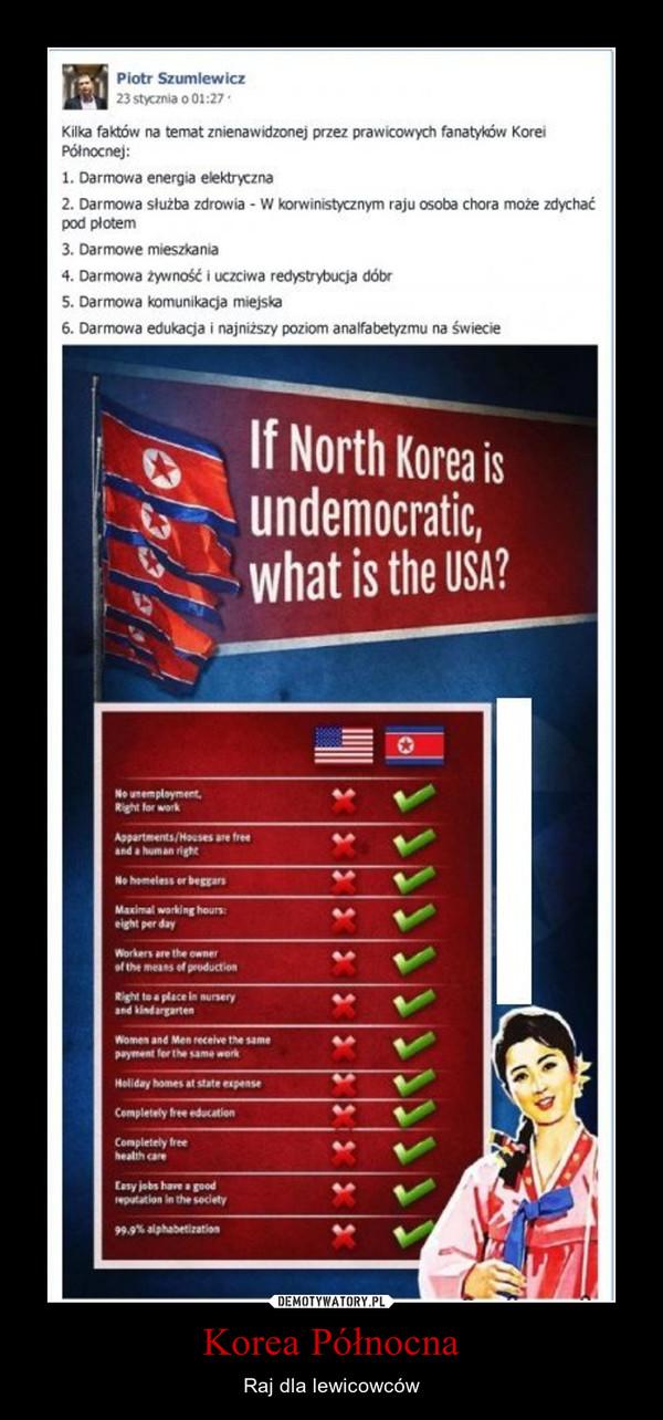 Korea Północna – Raj dla lewicowców