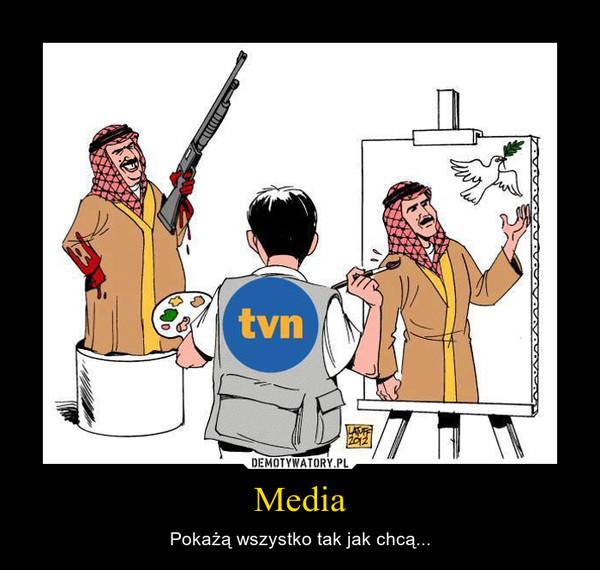 Media – Pokażą wszystko tak jak chcą...
