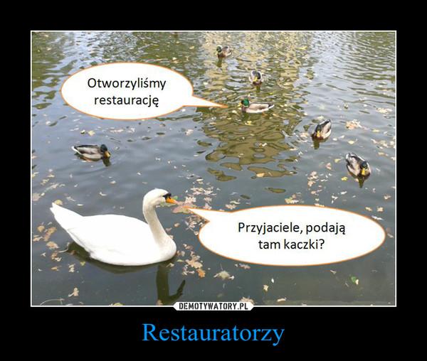 Restauratorzy –