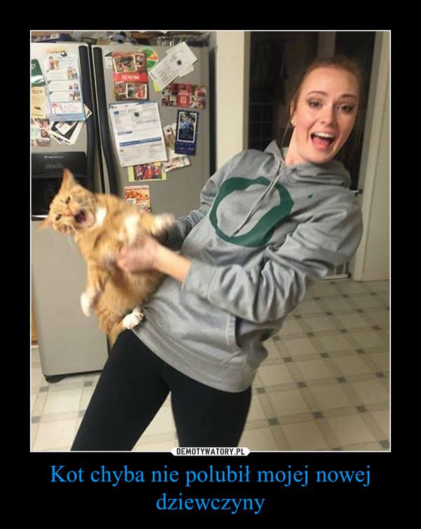 Kot chyba nie polubił mojej nowej dziewczyny –