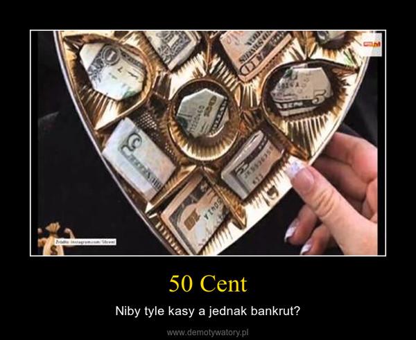 50 Cent – Niby tyle kasy a jednak bankrut?