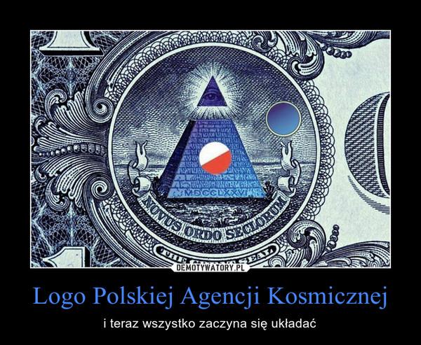 Logo Polskiej Agencji Kosmicznej – i teraz wszystko zaczyna się układać