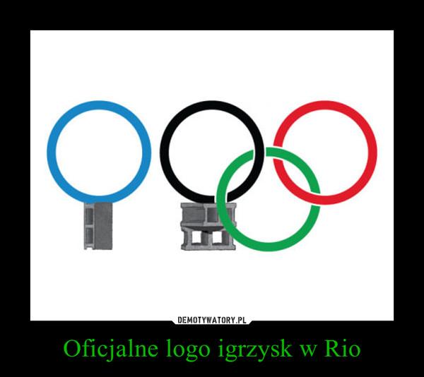 Oficjalne logo igrzysk w Rio –