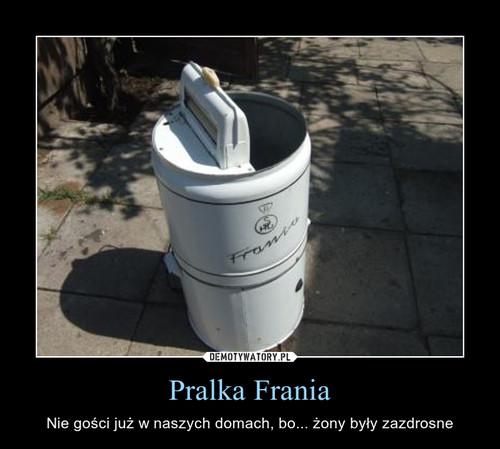 Pralka Frania