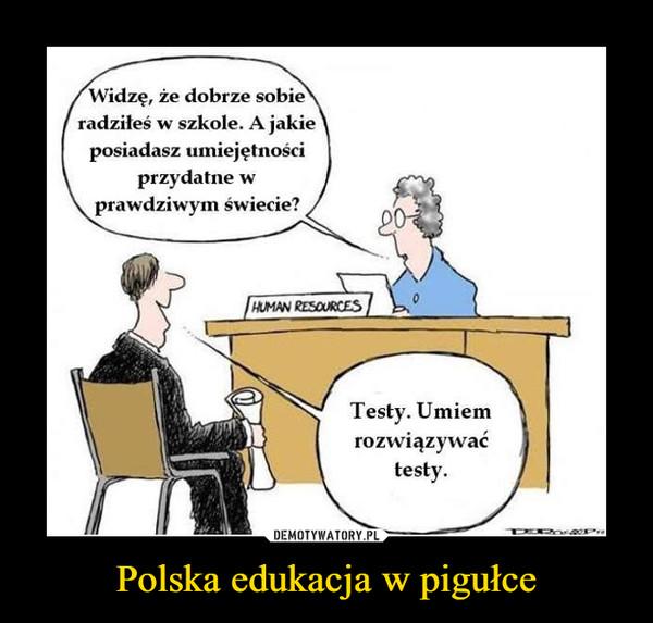 Polska edukacja w pigułce –