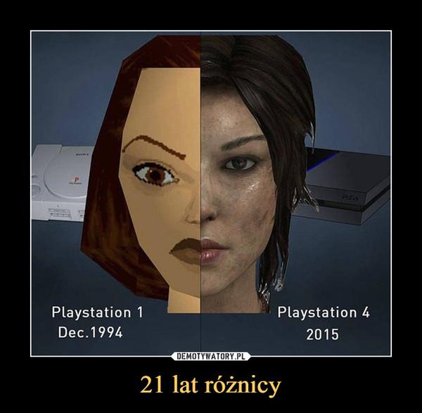 21 lat różnicy –
