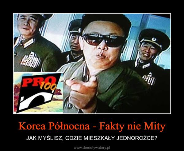 Korea Północna - Fakty nie Mity – JAK MYŚLISZ, GDZIE MIESZKAŁY JEDNOROŻCE?