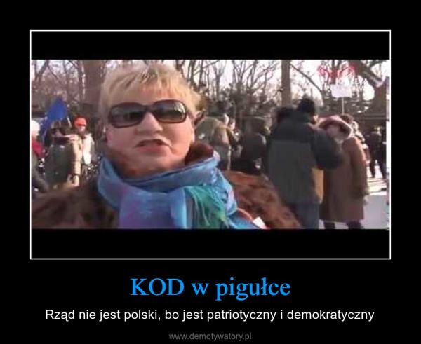 KOD w pigułce – Rząd nie jest polski, bo jest patriotyczny i demokratyczny