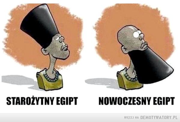 Zmiany –  Starożytny Egipt, Nowoczesny Egipt