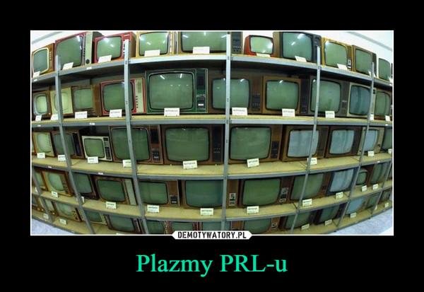 Plazmy PRL-u –