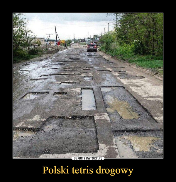 Polski tetris drogowy –
